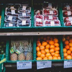 conservação frutas