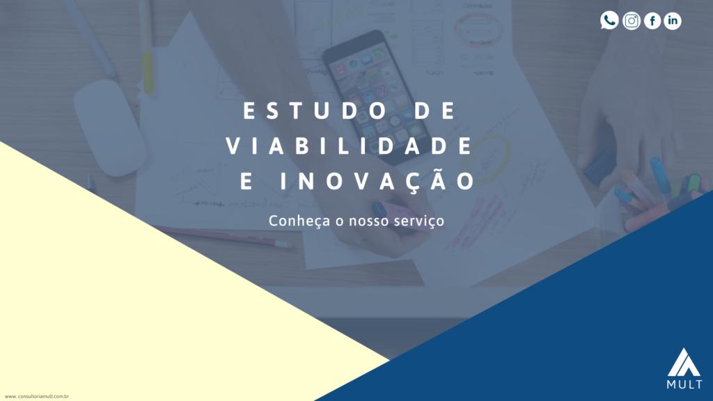 capa estudo de viabilidade e inovação